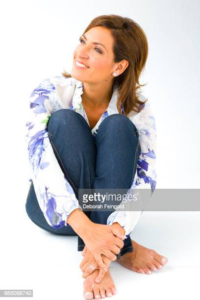 Author and journalist Suzy Welch poses on October 8 2008in New York City New York