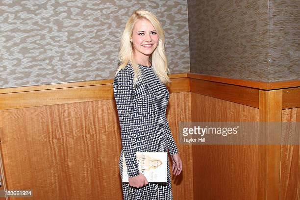 Author and kidnapping victim Elizabeth Smart signs copies of her book 'My Story' at Barnes Noble 86th Lexington on October 8 2013 in New York City