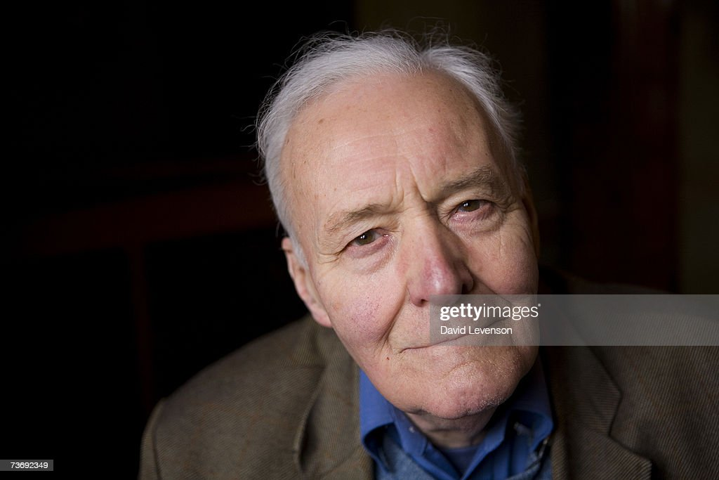Author and Labour Politician Tony Benn poses for a portrait at the annual 'Sunday Times Oxford Literary Festival' held at Christ Church on March 24, 2007 in Oxford, England.