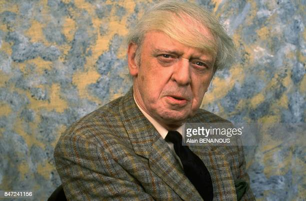 Author And Linguist Anthony Burgess, Paris, March 20, 1989.
