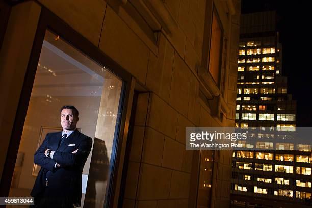 Author and motivational speaker Tony Robbins poses for a portrait at the Four Seasons Hotel in the Manhattan borough of New York, New York on...