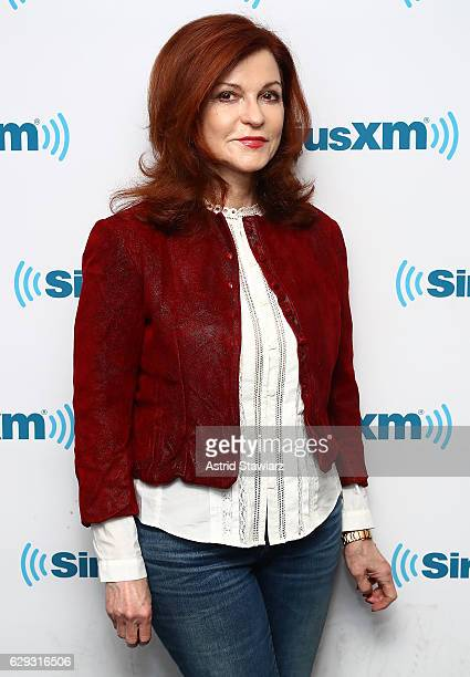Author and New York Times columnist Maureen Dowd visits the SiriusXM Studio on December 12 2016 in New York City
