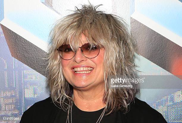Author and original MTV VJ Nina Blackwood attends a signing for her new book VJ The Unplugged Adventures of MTV's First Wave at The Venetian Las...