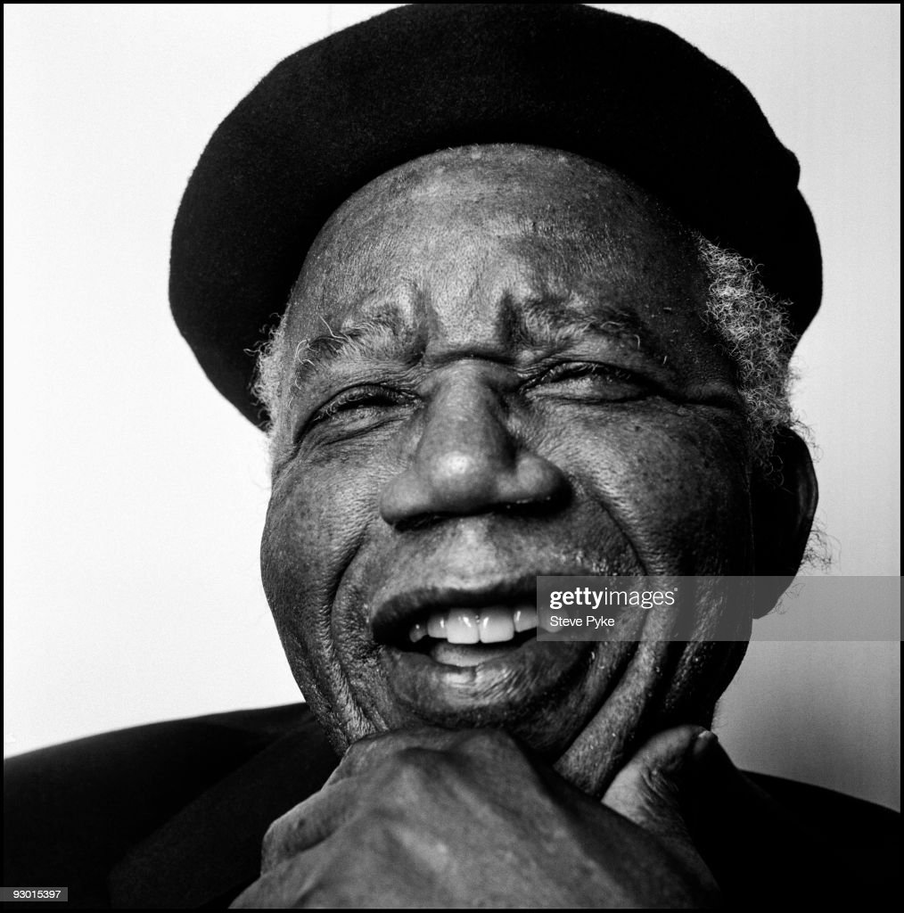 Author and poet Chinua Achebe poses at a portrait session for The New Yorker Magazine in Annandale On Hudson, NY on April 22, 2008.