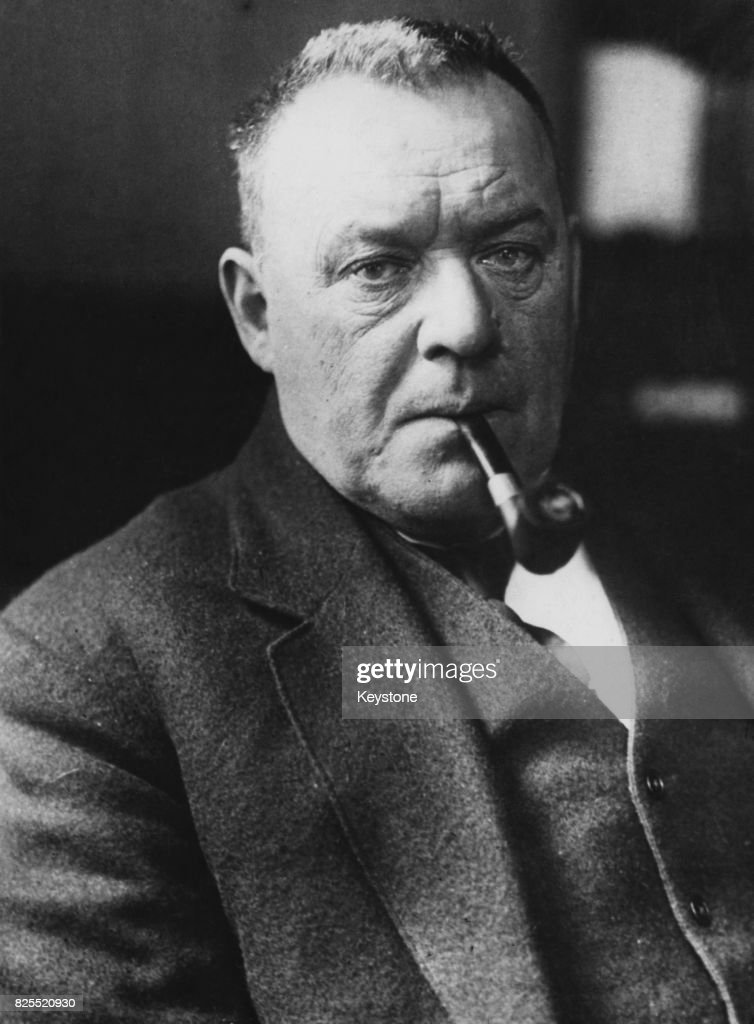 Author and poet Hilaire Belloc...