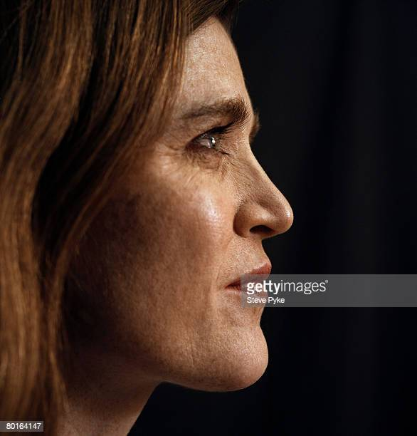 Author and Policy Adivsor to Senator Barack Obama Samantha Power is photographed in New York CIty