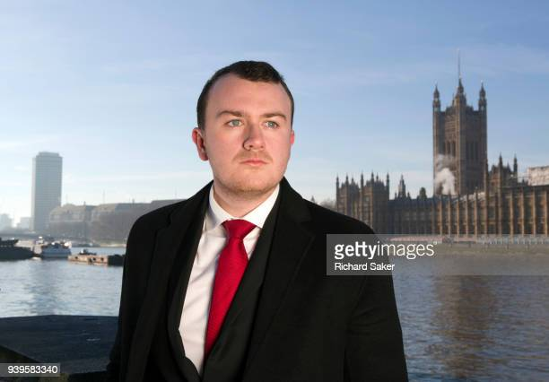 Author and political activist Liam Young is photographed for the Observer on December 12 2017 in London England