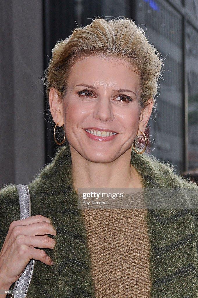 Celebrity Sightings In New York City - October 24, 2011 : News Photo