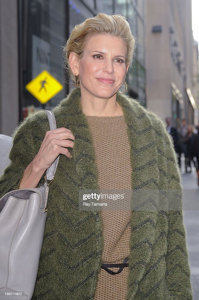 Celebrity Sightings In New York City - October 24, 2011 : News Photo