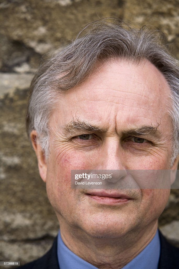 Author and Scientist Richard Dawkins poses for a portrait at the annual Sunday Times Oxford Literary Festival held at Christ Church on March 29, 2006 in Oxford, England. He is the writer of 'The Selfish Gene'.