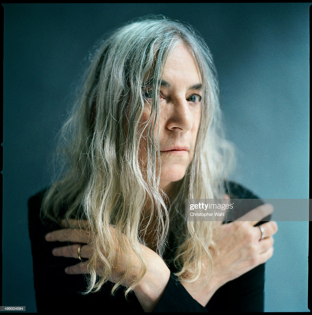Patti Smith, The Globe and Mail, October 16, 2015 : News Photo
