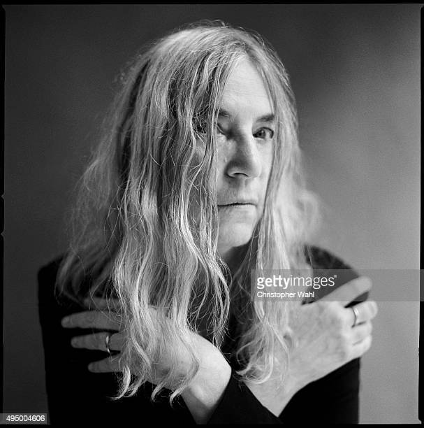 Author and singer Patti Smith is photographed for The Globe and Mail on October 14 2015 in Toronto Ontario