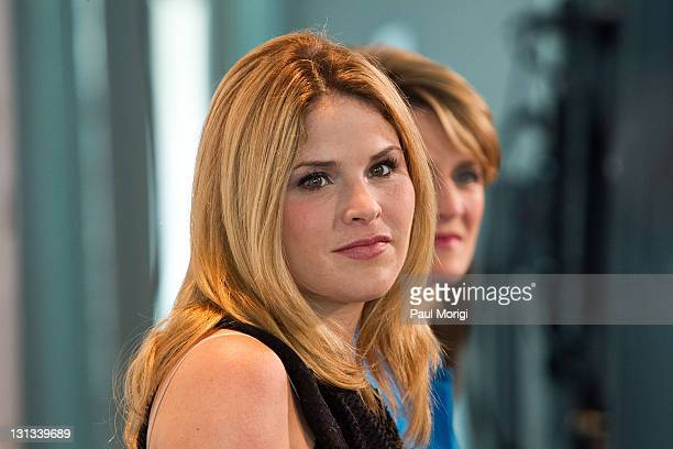 Author and Today Show correspondent Jenna Bush Hager attends the Like Mother Like Daughter Health Legacy Summit at The Newseum on April 27 2011 in...