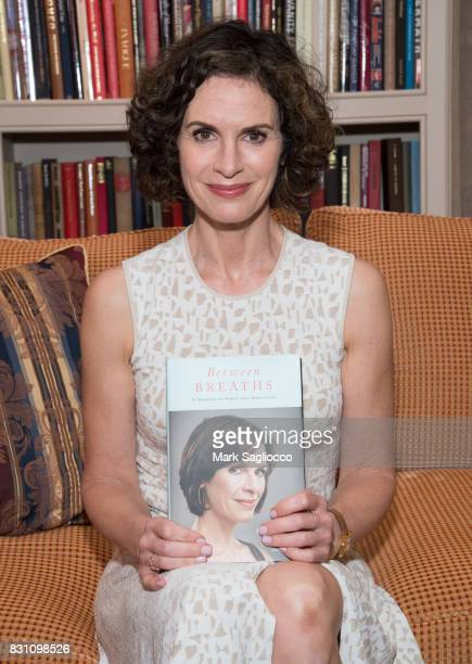 Author and TV Personality Elizabeth Vargas attends Hamptons Magazine's Private Dinner Celebrating East Hampton Library Authors Nighton August 12 2017...
