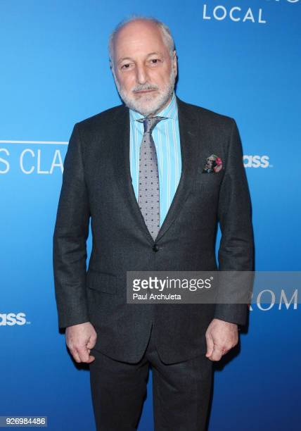 Author Andre Aciman attends the Sony Pictures Classics Oscar nominees dinner on March 3 2018 in Los Angeles California