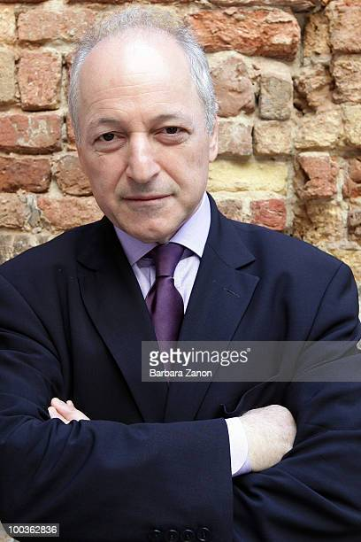 US author Andre Aciman poses for a portrait session during 'Incroci di civilta' Venice literary Festival on May 23 2010 in Venice Italy