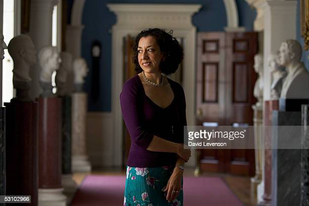 Author Andrea Levy poses for a portrait at the second annual Althorp Literary Festival held at Althorp House on June 19 2005 in Northampton England