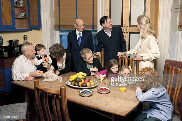 Author Andrew Solomon and extended family John Habich George Charles Habich Solomon Laura Scher Howard Solomon Tammy Ward Lucy Scher Carolyn Blaine...