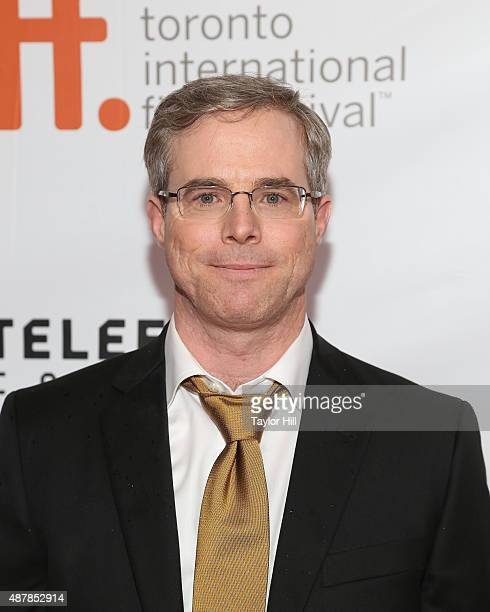 Author Andy Weir attends the premiere for 'The Martian' at Roy Thomson Hall during the 2015 Toronto International Film Festival on September 11 2015...