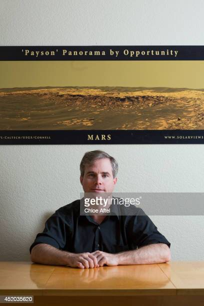 Author Andy Weir is photographed for Wall Street Journal on February 10 2014 in Mountain View California
