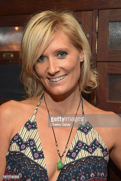 Author Angie Banicki attends the launch party for her book '30 Before 30 Traveling Under The Influence' at the Spare Room at the Hollywood Roosevelt...