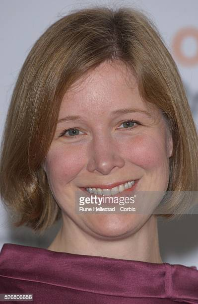 Author Ann Patchett at the Orange Prize for Fiction awards ceremony at the Royal Opera House