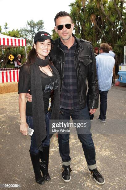 Author Anna David and actor Ashley Hamilton attend Recovery Fair Presented By The Fix And The Hills Treatment Center on November 10 2012 in Los...