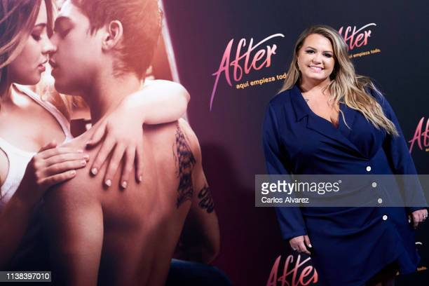 Author Anna Todd attenda 'After Aqui Empieza Todo' photocall at the VP Hotel on March 26 2019 in Madrid Spain