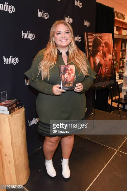 Author Anna Todd signs copies of her new book After at Indigo Yorkdale on April 04 2019 in Toronto Canada