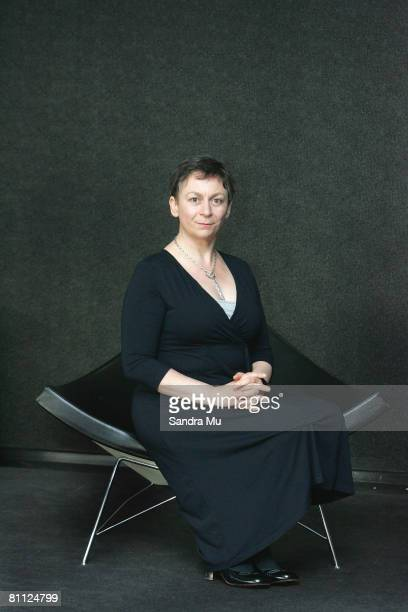 Author Anne Enright poses for a portrait at the 2008 Auckland Writers Readers Festival at ASB Theatre on May 17 2008 in Auckland New Zealand