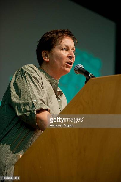 Author Anne Enright speaks onstage at the 2011 Wordstock Literary Festival at the Oregon Convention Center on October 9 2011 in Portland Oregon