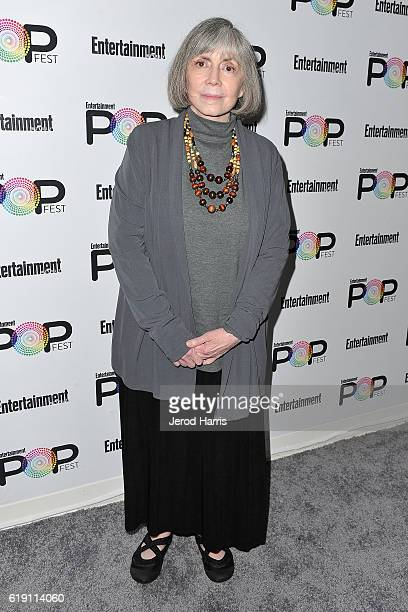 Author Anne Rice attends Entertainment Weekly's Popfest at The Reef on October 29 2016 in Los Angeles California