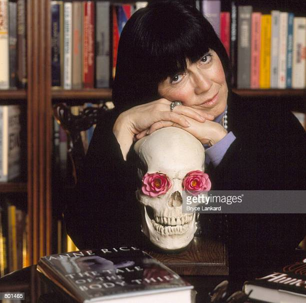Author Anne Rice poses for portraits October 19 1992 in Louisiana