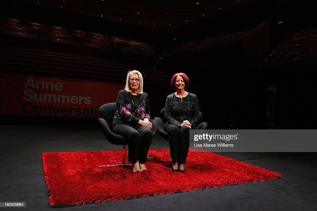 Julia Gillard Speaks At Inaugural Anne Summers Conversations