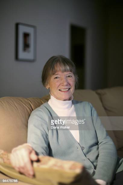 Author Anne Tyler poses for a portrait session on November 12 Baltimore MD