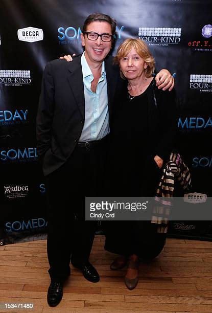 Author Antonio Monda and producer Elda Ferri attend the 'Someday This Pain Will Be Useful To You' New York Screening after party at Kiehl's Since...