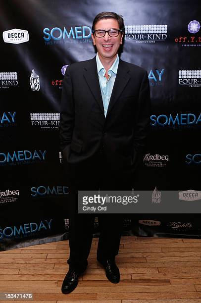 Author Antonio Monda attends the 'Someday This Pain Will Be Useful To You' New York Screening after party at Kiehl's Since 1851 Flagship Store on...