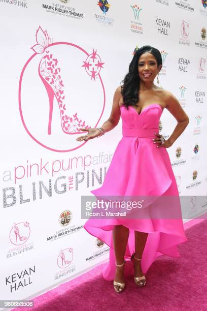 Author Areva Martin attends the 10th Annual Pink Pump Affair Charity Gala Fundraiser at The Beverly Hills Hotel on May 20 2018 in Beverly Hills...