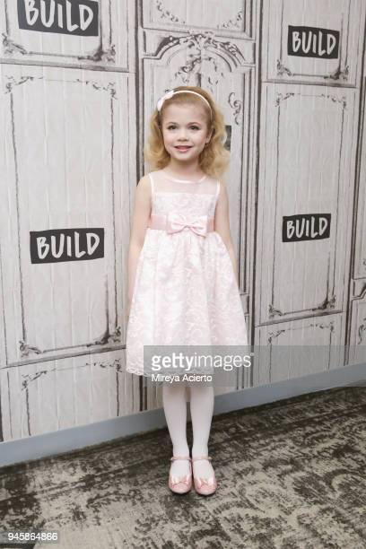 Author Ariana Jalia attends BUILD to discuss the television show 'Little Big Shots' at Build Studio on April 13 2018 in New York City
