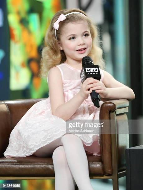Author Ariana Jalia visits Build Studio to discuss the television show 'Little Big Shots' on April 13 2018 in New York City