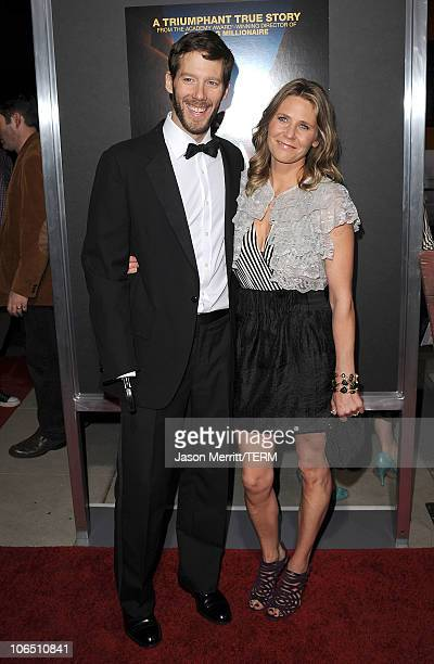Author Aron Ralston and Jessica Trusty arrive at the premiere of 127 Hours at the Academy Of Motion Picture Arts and Sciences Samuel Goldwyn Theater...