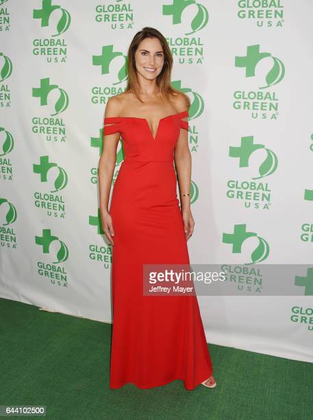 Author Audrey Slade arrives at the 14th Annual Global Green PreOscar Gala at TAO Hollywood on February 22 2017 in Los Angeles California