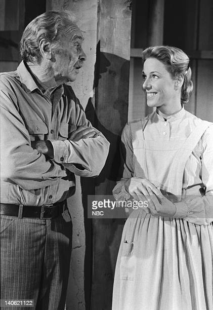 PRAIRIE Author Author Episode 11 Aired 11/26/79 Pictured Barry Sullivan as Frederick Holbrook Karen Grassle as Caroline Quiner Holbrook Ingalls Photo...