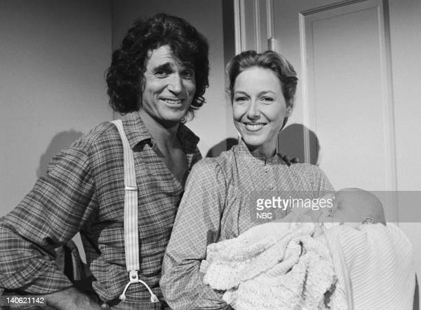 PRAIRIE 'Author Author' Episode 11 Aired 11/26/79 Pictured Michael Landon as Charles Philip Ingalls Karen Grassle as Caroline Quiner Holbrook Ingalls...