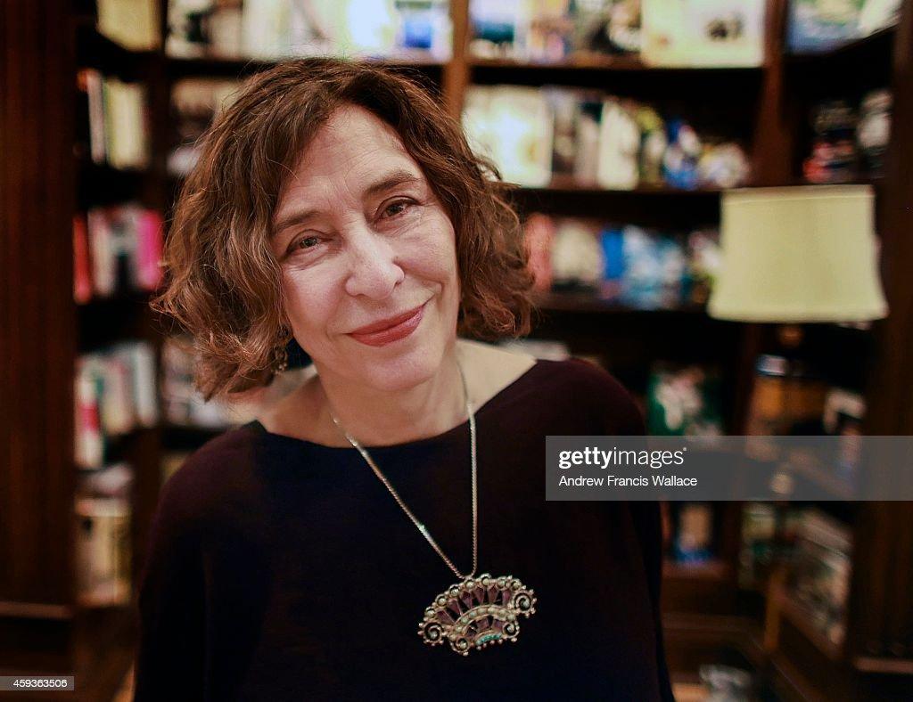 TORONTO, ON - NOVEMBER 12 - Author Azar Nafisi poses at, Ben