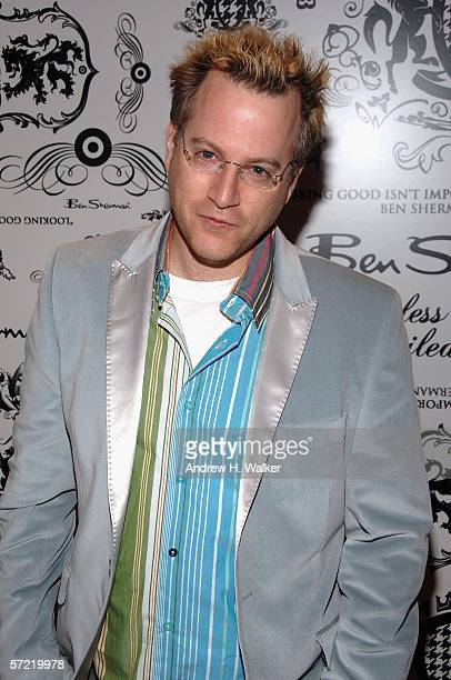 Author Ben Mezrich attends the launch of Ben Sherman's first official US Flagship Store on March 30 2006 in New York City