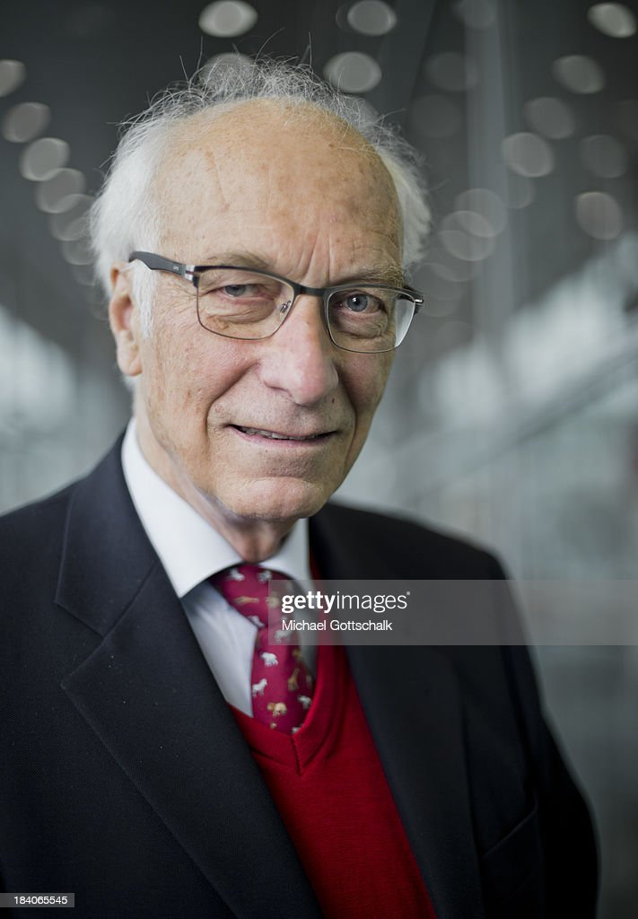 Author Bernhard Bueb poses during a portrait session at the 2013 Frankfurt Book Fair on October 11, 2013 in Frankfurt, Germany. This year's fair will be open to the public from October 9-13 and the official partner nation is Brazil.