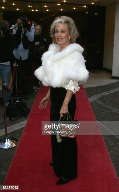 Author Blanche d'Alpuget arrives for the opening night of the music production of 'My Fair Lady' at the Theatre Royal on October 9 2008 in Sydney...