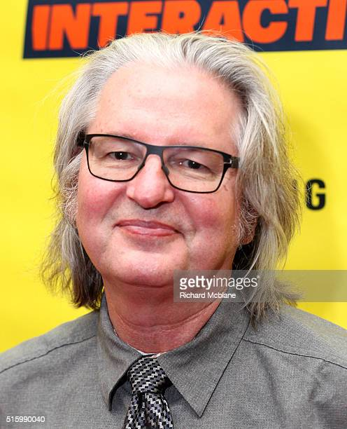Author Bruce Sterling attends 'Closing Remarks Bruce Sterling' during the 2016 SXSW Music Film Interactive Festival at Austin Convention Center on...