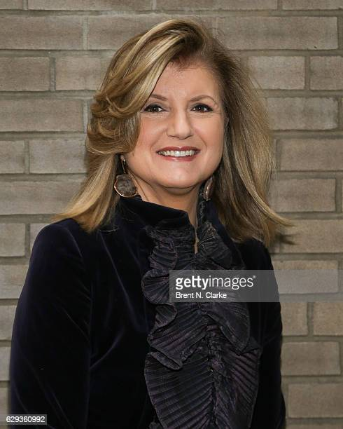 Author businesswoman Arianna Huffington attends the 2016 Hearst 100 held at Michael's Restaurant on December 12 2016 in New York City